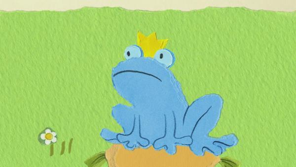 Farbe für den Frosch | Rechte: KiKA