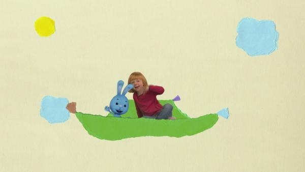 Unterwegs auf dem fliegenden Teppich | Rechte: KiKA