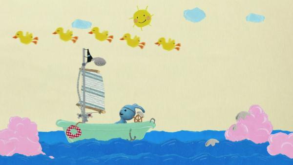 Kikaninchen und die frechen Enten | Rechte: KiKA