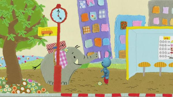 Kikaninchen verpasst den Bus | Rechte: KiKA