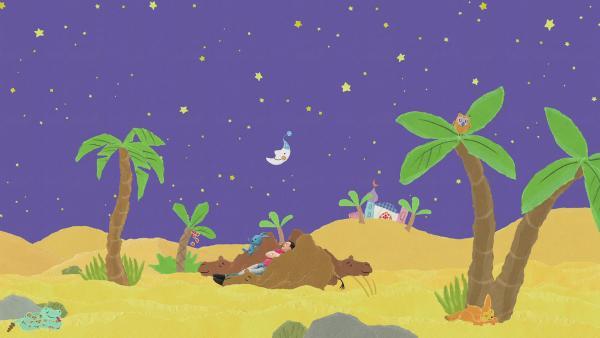Wüstenfahrt mit Übernachtung | Rechte: KiKA