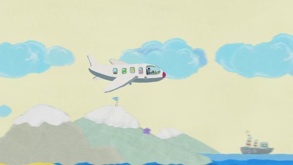 Pilot im Passagierflugzeug | Rechte: KiKA