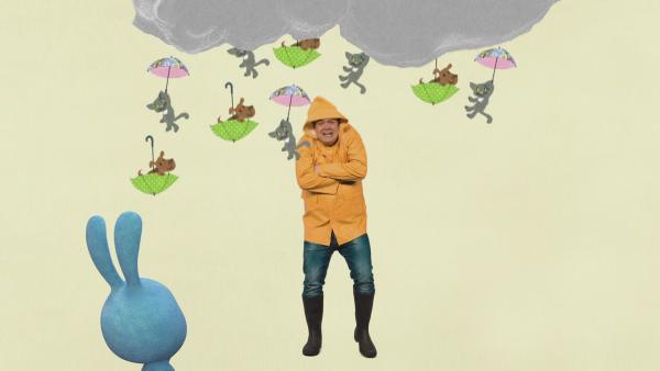Christian erklärt Regenwetter | Rechte: KiKA