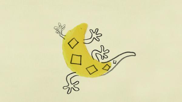Was so alles aus einer gelben Sichel werden kann | Rechte: KiKA