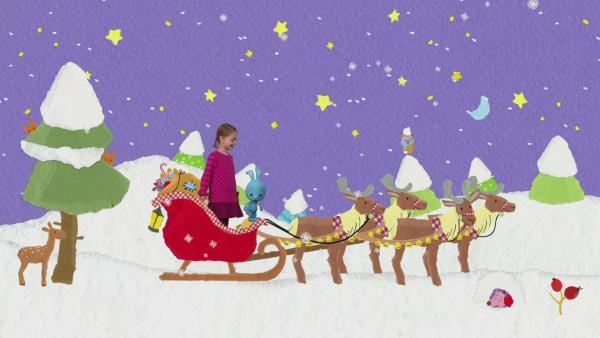 Mit Kikaninchen durch den Advent | Rechte: KiKA