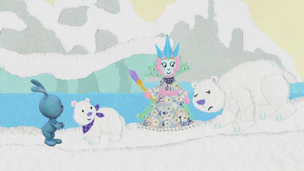 Treffen mit den Eisbären | Rechte: KiKA