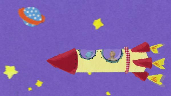 Mit der Rakete ins All | Rechte: KiKA