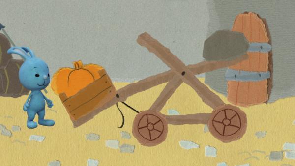 Das Kürbiskatapult | Rechte: KiKA