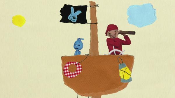 Auf dem Piratenschiff | Rechte: KiKA