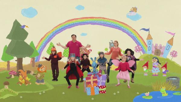 Eine Märchenparty für Kikaninchen | Rechte: KiKA