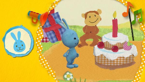 Kikaninchen, Anni und Christian feiern eine große Party mit all ihren Freunden!  | Rechte: KiKA