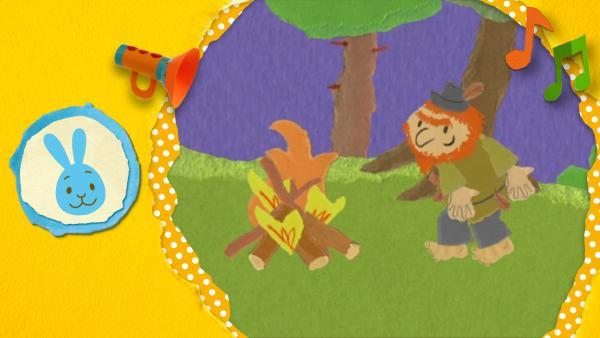 Kikaninchen tanzt gemeinsam mit Rumpelstilzchen  | Rechte: KiKA