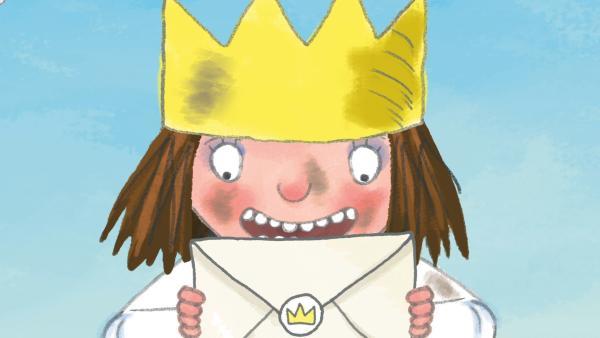 Die kleine Prinzessin bekommt gerne Post. | Rechte: ZDF/Illuminated Film Company