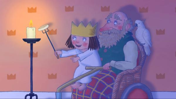 Am Abend soll eine Geburtstagsparty für Großonkel Walter stattfinden. Doch plötzlich gibt es einen Stromausfall.   Rechte: ZDF/Illuminated Film Company