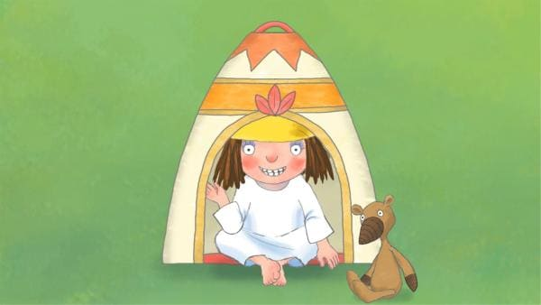 Die kleine Prinzessin in ihrem Zelt. | Rechte: ZDF/Zodiak Kids