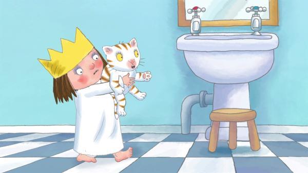 Die kleine Prinzessin will ab sofort auch Dinge ganz alleine - ohne die Hilfe der Erwachsenen - machen. Doch das ist manchmal gar nicht so einfach. | Rechte: ZDF/Illuminated Film Ltd.