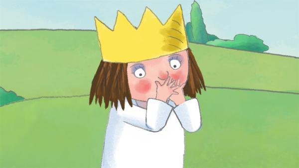 Die kleine Prinzessin hat eine laute Stimme, die sie auch gerne und oft einsetzt. Bis ihr eines Tages die Stimme wegbleibt. | Rechte: ZDF/Illuminated Film Ltd.