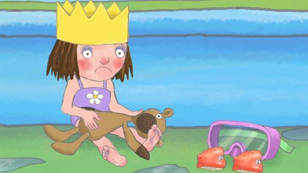 Die Prinzessin merkt, dass gemeinsames Spielen mehr Spaß macht.   Rechte: ZDF/Illuminated Film Ltd.