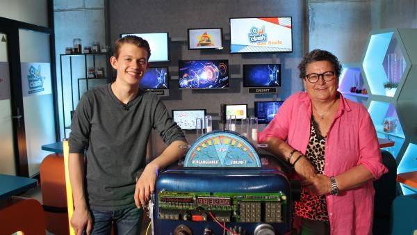 Wer kann in den Spielrunden besser punkten? Paul und Uschi wollen es wissen! | Rechte: ZDF/Oliver Landgraf
