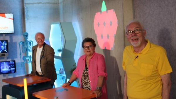 Wolfgang, Uschi und Johann vom Team Zukunft | Rechte: ZDF/Oliver Landgraf
