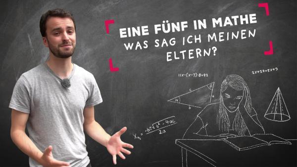Wie beichte ich eine schlechte Note? | Rechte: KiKA / Jonas Armbruster