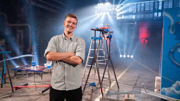 Moderator Christian Loß | Rechte: WDR/Jan-Philipp Behr