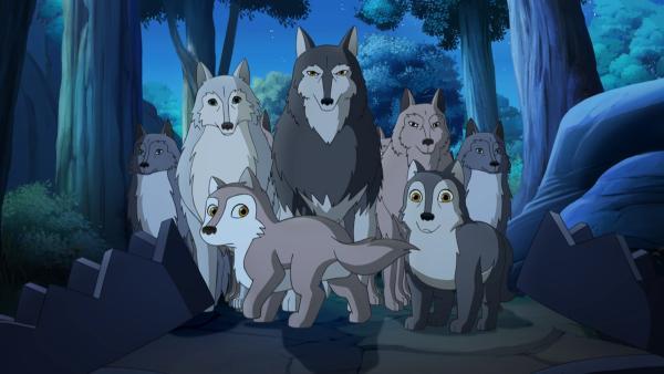 Das Wolfsrudel wäre beinahe in die Fallen der bösartigen Rancher getappt. | Rechte: ZDF/Classic Media/DC Entertainment/Superprod