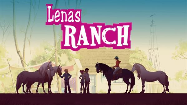 Sendungslogo Lenas Ranch  | Rechte: hr/Tele Images