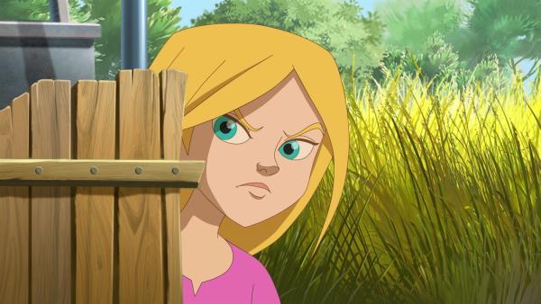 Als Samantha zufällig mitbekommt, dass ausgerechnet Lena von Vina als Vertrauensperson ausgewählt wurde, lässt sie aus Rache Lily aus dem Gehege frei. | Rechte: hr/Tele Images