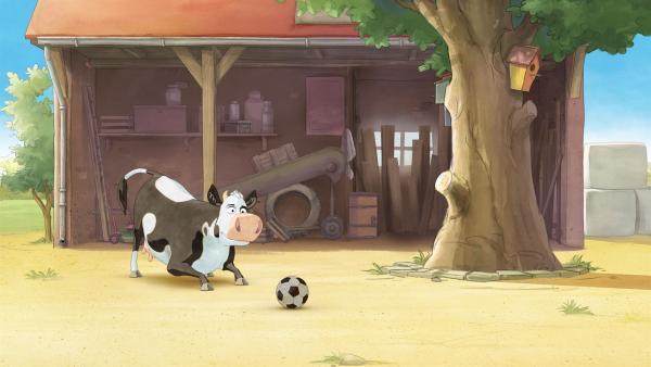 Lieselotte ist voll im Fußballfieber!   Rechte: ZDF/WunderWerk