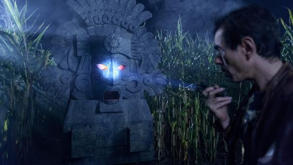 Eine unheimliche im Maisfeld: Der alte, aztekische Maisgott ist zum Leben erwacht! | Rechte: ZDF/Antje Dittmann