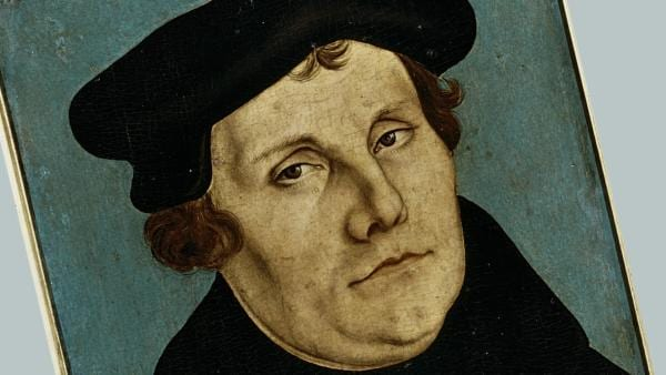 Luther, Porträt, 1529, , Lucas Cranach d. Ä | Rechte: picture alliance/akg-images