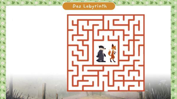 Rätselbogen von einem Labyrinth | Rechte: WDR/Mediatoon