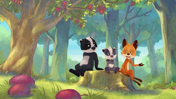 Rosie, Liuis und Emmie überlegen, ob sie Matteo weiterhin helfen oder eine eigene Aufführung vorbereiten. | Rechte: WDR/Mediatoon