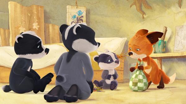 Die Geschwister sind traurig, Rosie möchte die Familie verlassen. | Rechte: WDR/Mediatoon