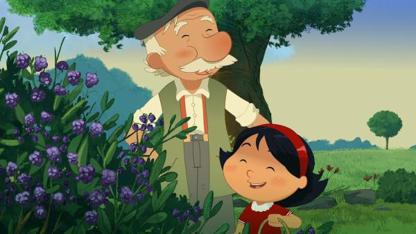 Marinette ist Großvaters Liebling. | Rechte: NDR/2 Minutes