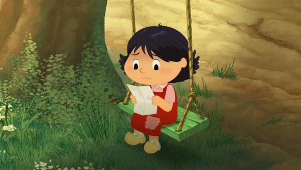 Marinette hat einen Brief von ihrer Mama bekommen. | Rechte: NDR/2 Minutes