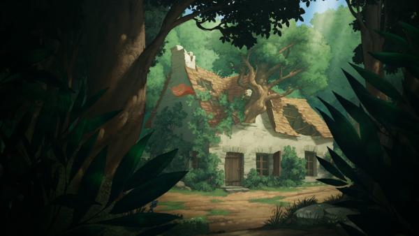 Das verlassene Haus.   Rechte: NDR/2 Minutes