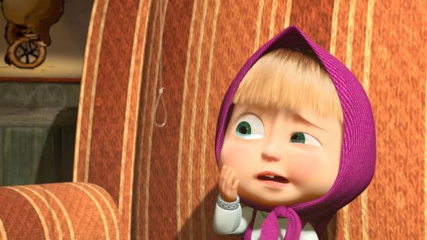 Mascha hat große Angst vorm Zähne ziehen.  | Rechte: KiKA/2014-2015 Animaccord Ltd.