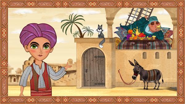 Kasim ist reich und Ali Baba hat keinen Besitz. | Rechte: KiKA/Animaccord LTD 2008