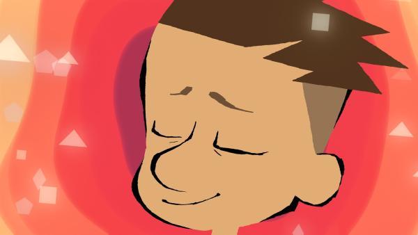 Max versucht blind und nur mit dem Herzen zu hören. | Rechte: hr/Monello Productions - MP1