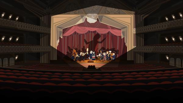 Der Maestro übt für den Auftritt in der Oper. | Rechte: hr/Monello Productions - MP1