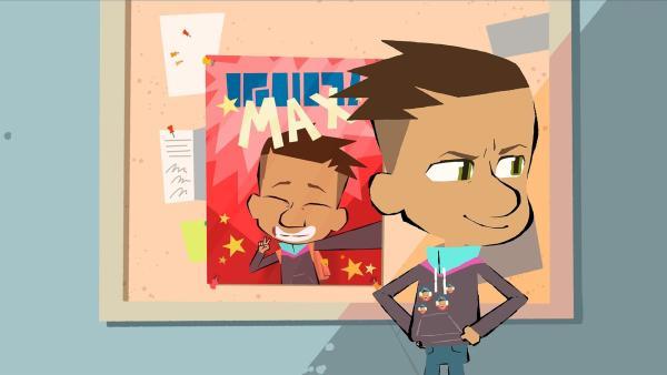 Max will Klassensprecher werden. | Rechte: hr/Monello Productions - MP1