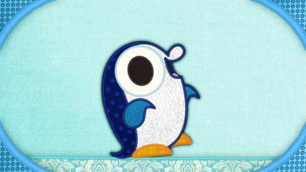 Der Pinguin auf meiner Schmusedecke hat ein Problem: Er möchte schnell laufen, aber er weiß nicht wie! | Rechte: rbb/Studio FILM BILDER