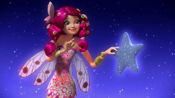 Das Orakel führt Mia und ihre Freunde zu den Sternen am Himmel. Dort sollen sie den nächsten Ring der Einhorn-Krone finden. | Rechte: ZDF/Hahn & m4e Productions/Rainbow