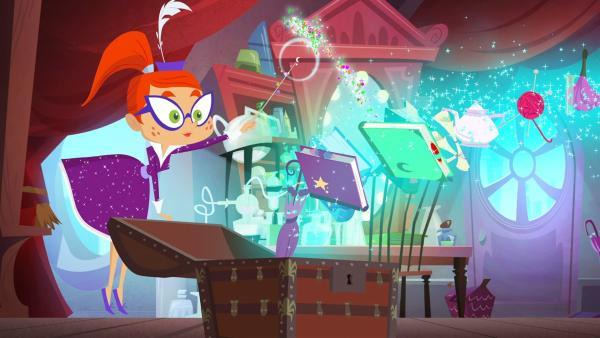 Das Gute an Magie ist: sie macht das Aufräumen einfacher! | Rechte: KiKA/Safari de Ville/TF1/PGS Entertainment
