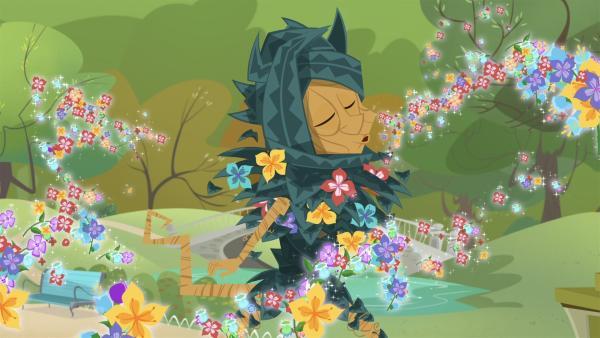 In der magischen Welt bringen Ratikis den Frühling.   Rechte: KiKA/Safari de Ville/TF1/PGS Entertainment