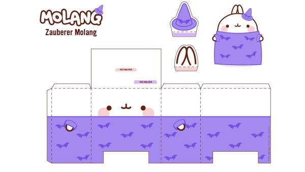 Molang Figur als Zauberer | Rechte: hr/Millimages