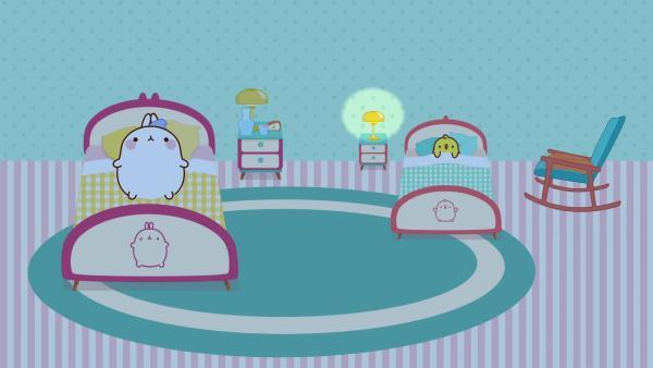 Piu Piu kann nicht schlafen. | Rechte: hr/Millimages