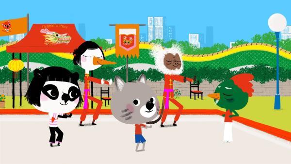 Mit Hilfe von Tai Chi möchte Chavapa Geduld lernen. | Rechte: KiKA/Millimages